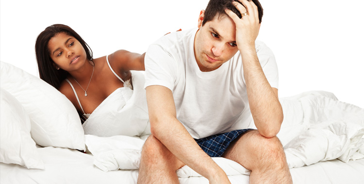 After marriage erection problem