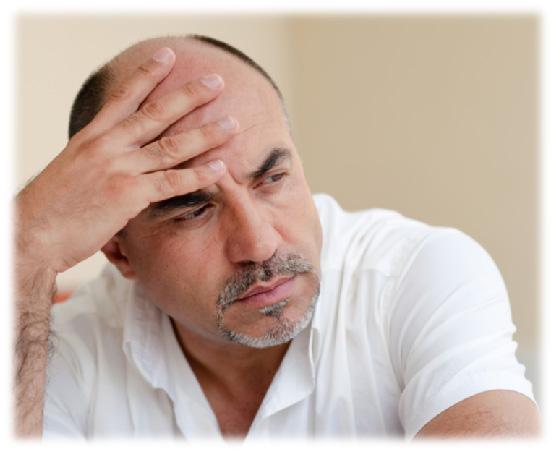hair baldness in men