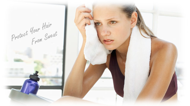 Hair Protection from sweat