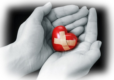 how-to-mend-a-broken-heart - All healing is first a healing of the heart !!!