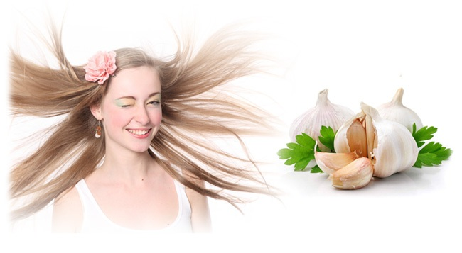 garlic for hair