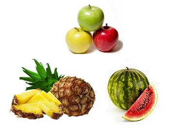 Watermelon Pineapple Apple-