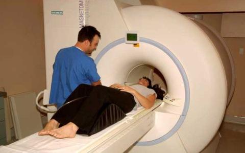 MRI of Woman