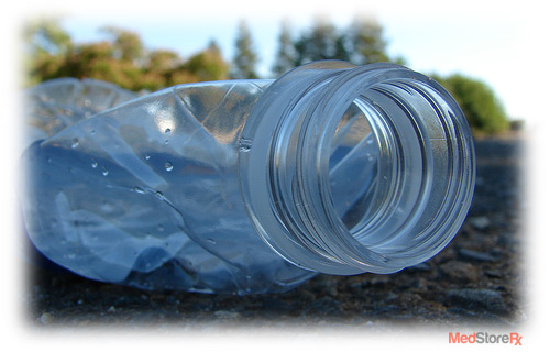 Plastic Bottles may cause health hazards.